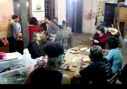 Laboratório Investigativo de Construção de Bonecos (2014) - foto: